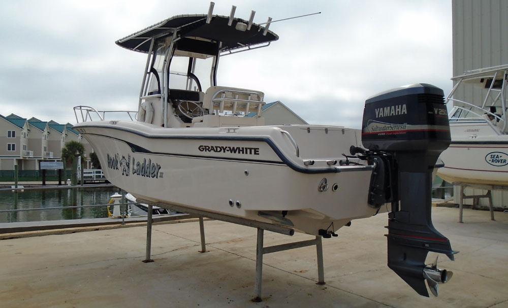 2000 grady white 247 advance open fisherman ebay for Yamaha saltwater series ii