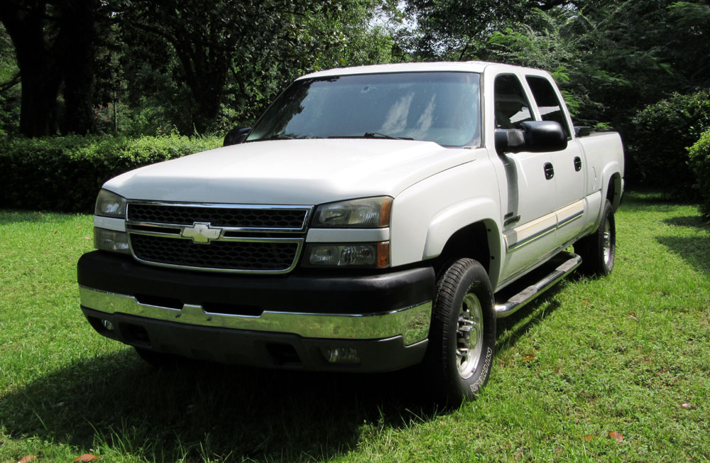 2005 chevrolet silverado 2500 hd duramax 6 6 lt diesel ebay. Black Bedroom Furniture Sets. Home Design Ideas