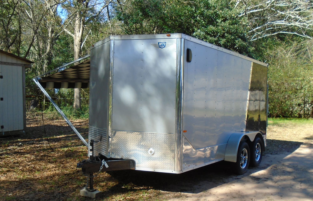 2013 R C Trailers Middlebury Trailers V Nose Toy Hauler Rv