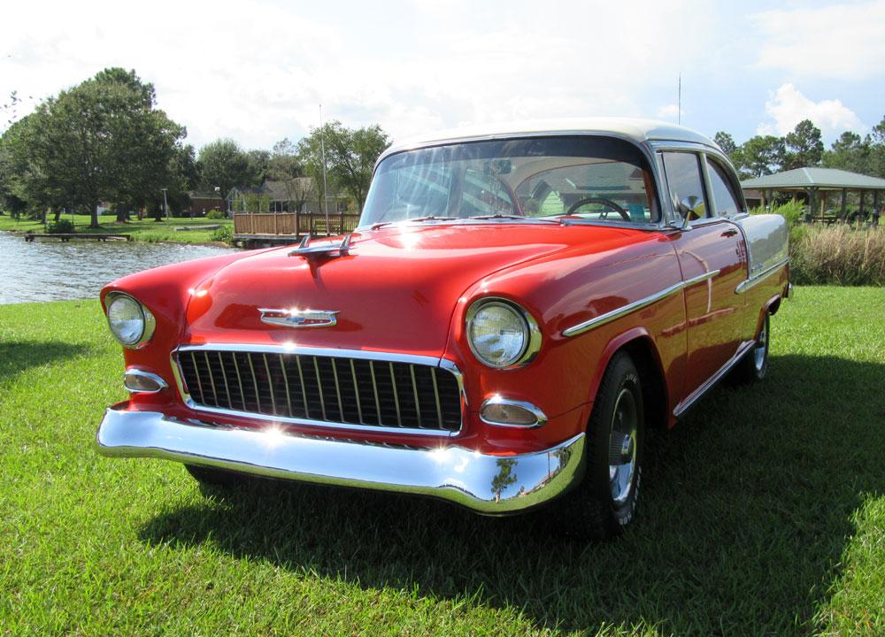 1955 chevrolet bel air 150 210 bel air 2 door sedan ebay for 1955 chevy bel air door panels
