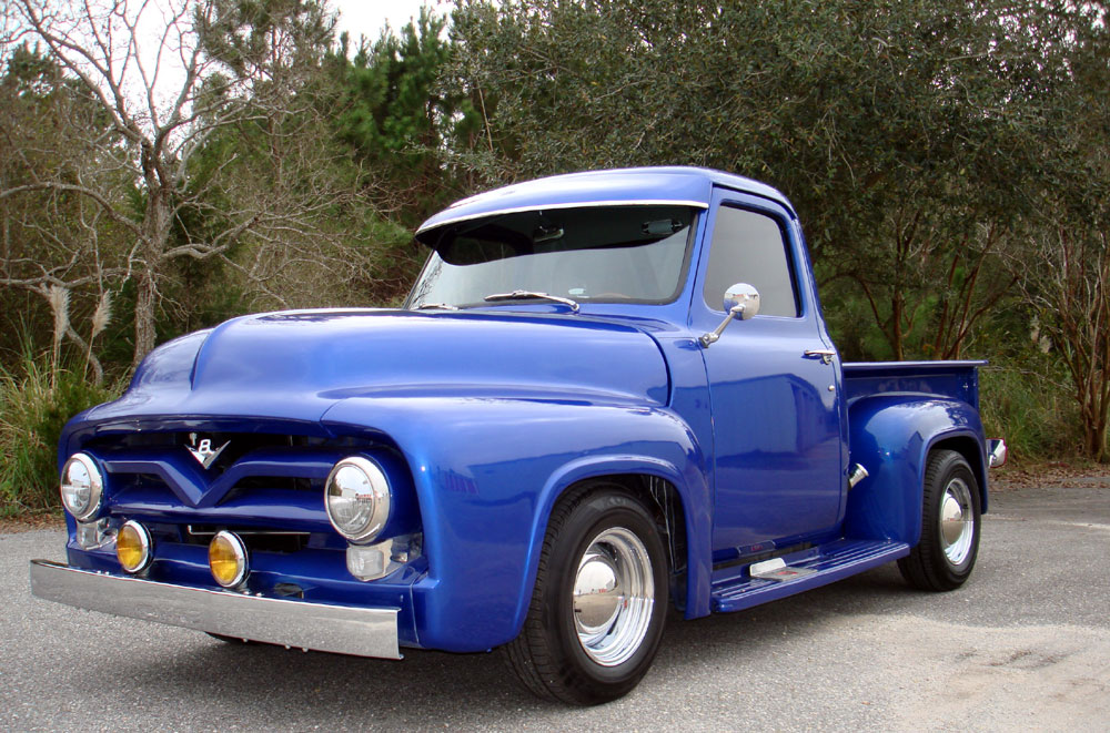 Texas Auto Trim >> 1955 Ford F100 Pick Up 302 V8 Auto A/C Fully Restored!