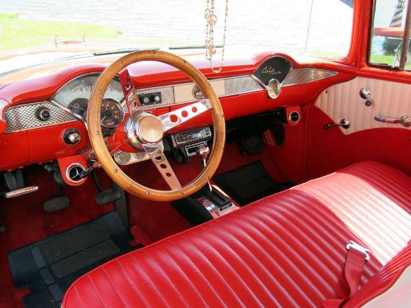 1955 Chevrolet Bel Air 2 Door Sedan 350 V8 Auto A C